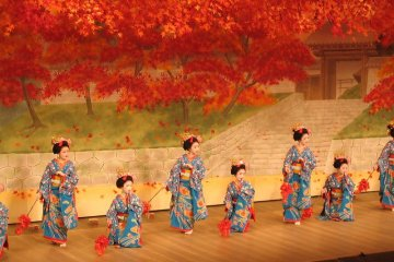 Gion Odori offers a different take on Kyoto's autumn
