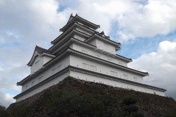 Tsuruga-jo castle in Aizu Wakamatsu