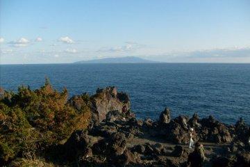 The coastline near Ito, on the Izu Peninsula