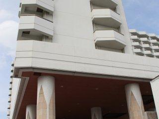 The Tokyo Dai-ichi Hotel Okinawa Grand Mer Resort is one of the only resort hotels in Okinawa City