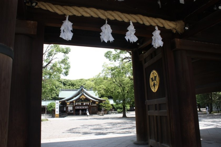 Masumida Jinja, the ancient shrine of Ichinomiya