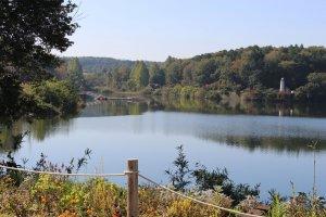 Miyazawa Lake, Metsa Village where fireworks will be launched