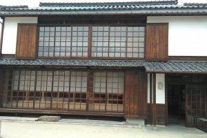 Yakisugi walls
