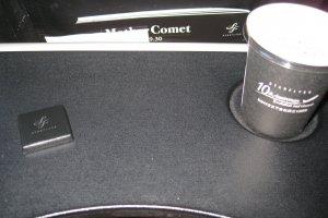 机内提供的咖啡及巧克力~