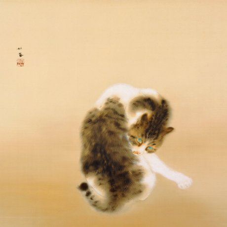 Takeuchi Seihō's Tabby Cat and an Animal Paradise