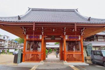 Myojin Temple Gate