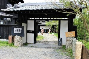The Mataichi-salt maker also operates a cafe and a shop on the same premises