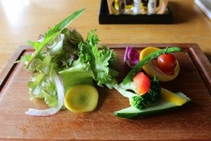 Itoshima is also well known for locally-grown fresh vegetables.