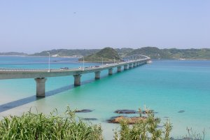 Tsunoshima Bridge is surrounded by stellar views