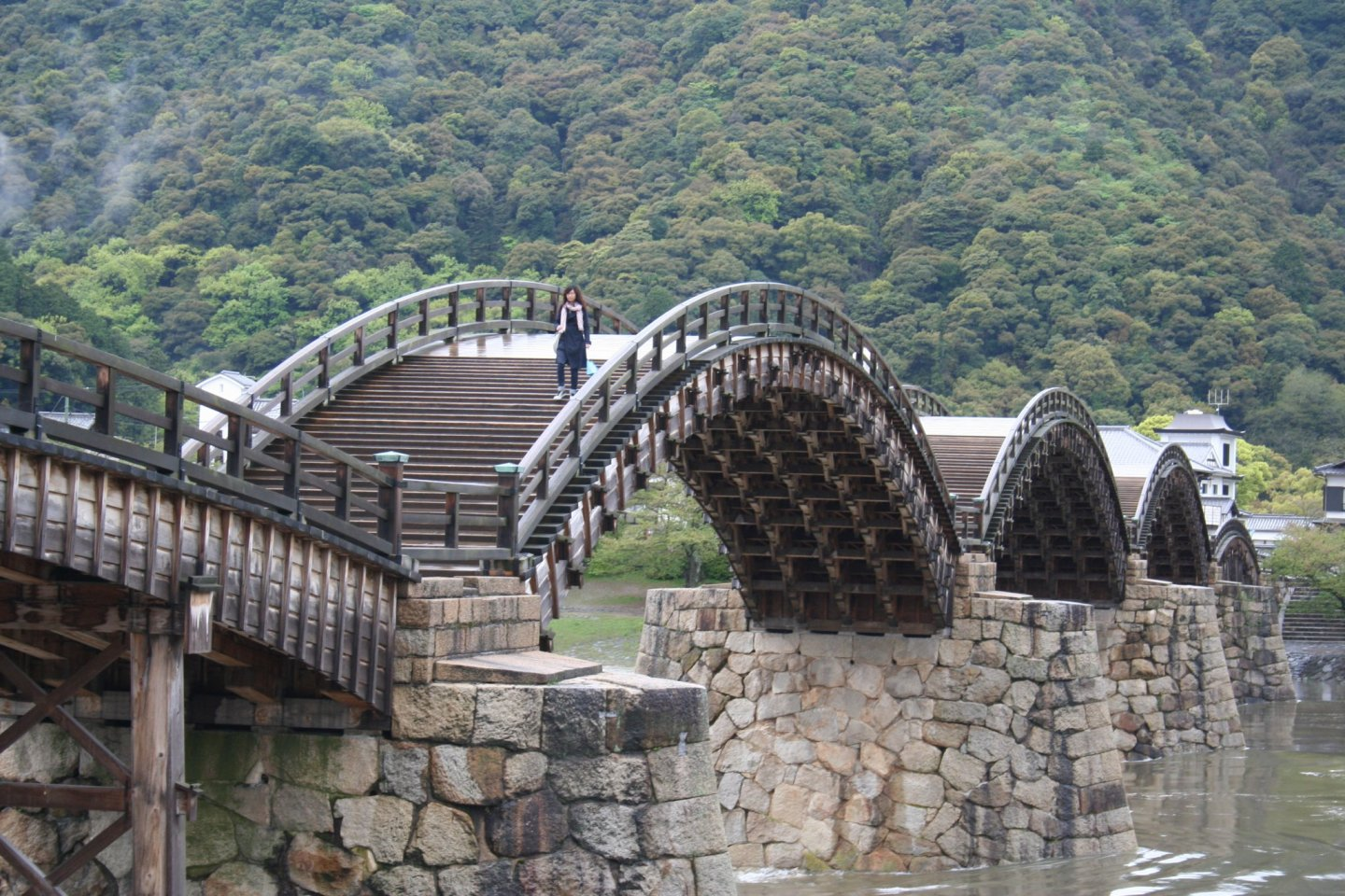 One of Japan\'s bridge icons - Kintaikyo