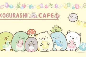 Sumikko Gurashi Pop-up Cafe