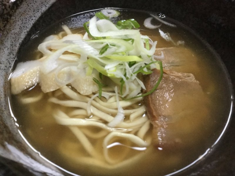 Sanmainiku (3 slices of pork belly) soba