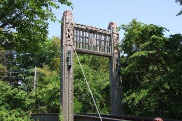 Tachikawa Park, bridge