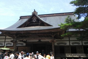 Hondo - the Main Hall at Chūson-ji