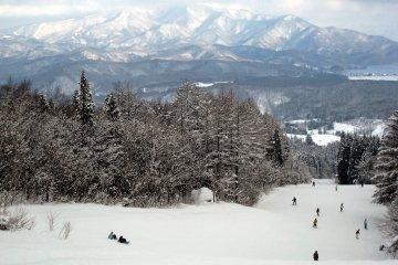 <p>สกีรันที่ยาวที่สุดในประเทศญี่ปุ่น</p>