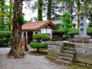 Đền Jokenji là một trong những nơi tuyệt nhất của Tono và chỉ cách một quãng đi bộ ngắn từ Công viên Denshoen