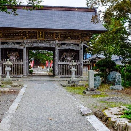 Đền thờ Jokenji và hồ Kappabuchi