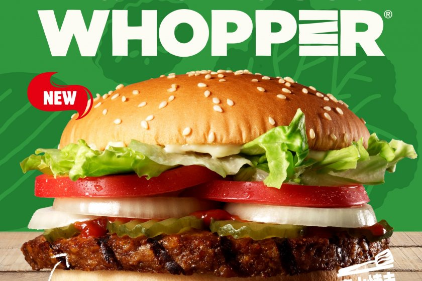 Burger King has released their plant-based Whopper