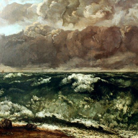 Courbet and the Sea