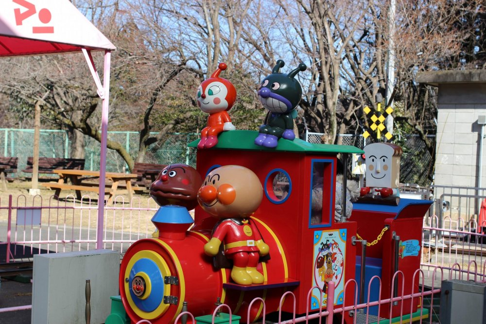 """Ome Railway Park shows not only another side to Tokyo, but for the traveler from overseas, introduces some of Japan's culture. For example, """"Anpanman"""", a popular cartoon in Japan."""