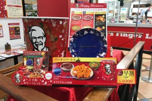 Nothing says Christmas in Japan like KFC!