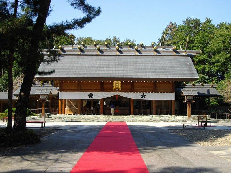 Noda City's stately Sakuragi Shrine