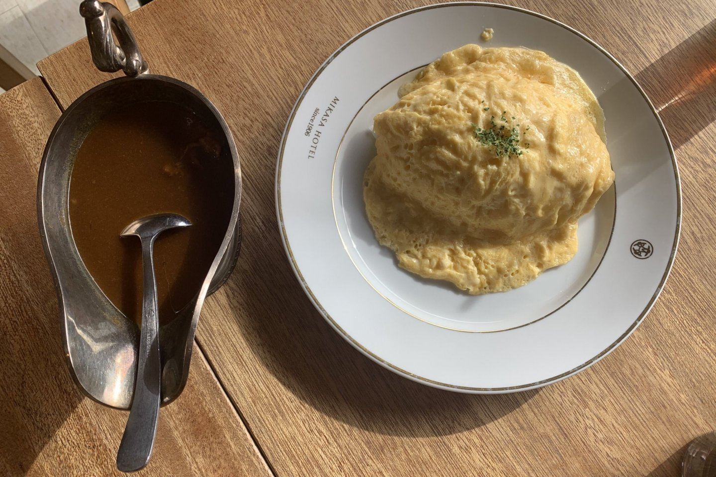 Beef Omelette Curry
