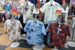 Kariyushi Wear is a popular style of casual attire made only in Okinawa