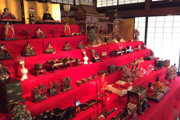 The World of Hina in a Period House
