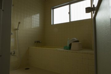 The ensuite bathroom is available with some rooms