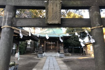 Komae City - Temples & Shrines