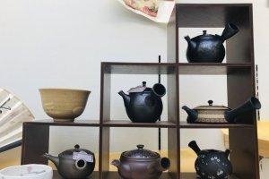 Just some beautiful tea pots