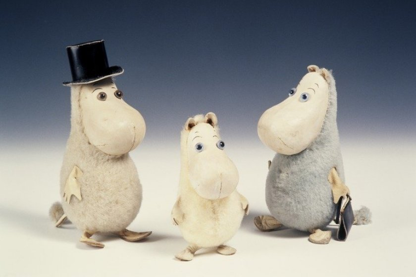 Examples of Moomin Toys