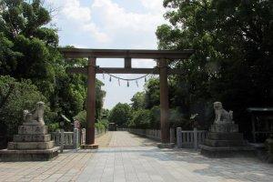 Main Entrance to Otori Taisha