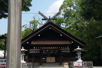 The Haiden of Otori Taisha