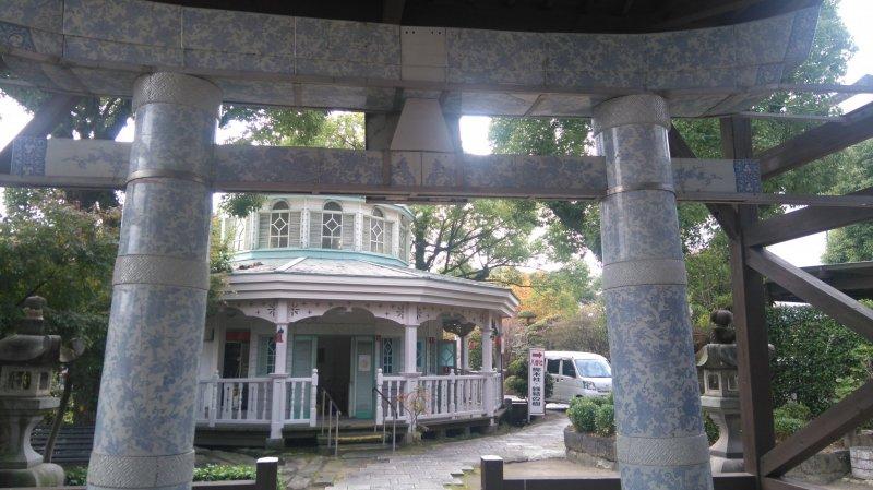 Saga's famous ceramic at its Shrine