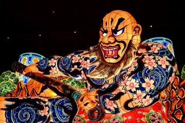 Nebuta Floats are created based on scenes from Kabuki, Japanese History, Japanese Mythology, Chinese Mythology or current news