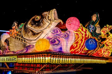 The Nebuta Floats really need to be seen to be believed. The incredible colour, intricacy and sheer size of the floats is mind-blowing