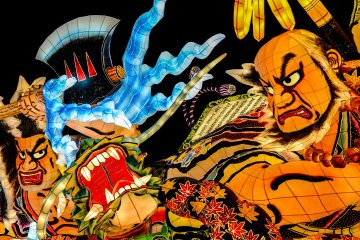 I highly recommend a visit to the Wa Rasse Nebuta Museum