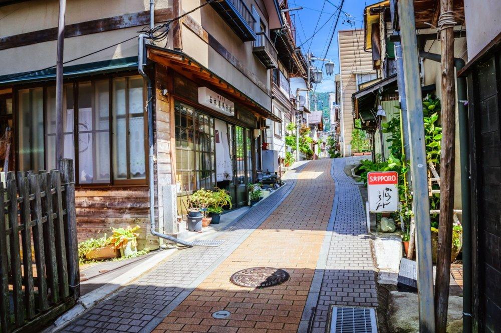 The charming laneways of Shibu Onsen