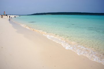 Stunning beaches are just one of the drawcards to Miyakojima