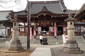 Explorando Gunma - Templo Ishiuchi Kobu Kannon