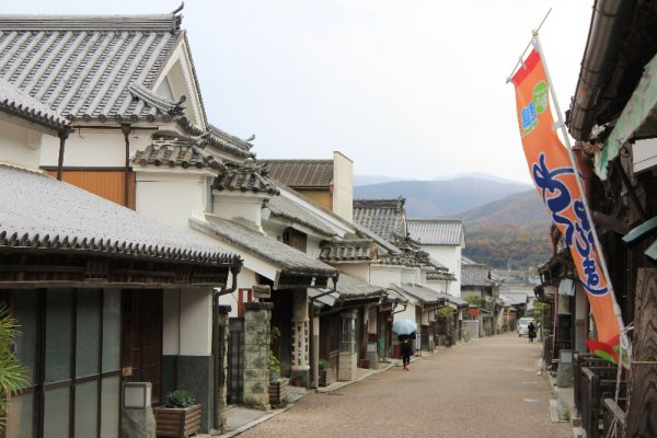 Udatsu old street.