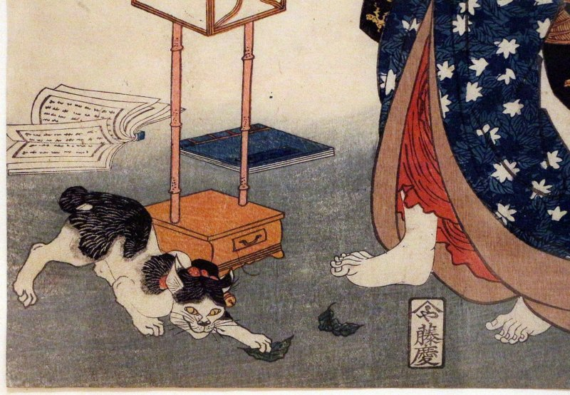 Cats have featured in a plethora of artworks throughout history