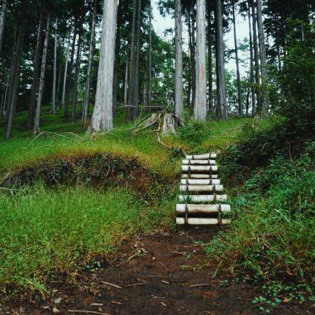 Mount Nabewari and Nabewari Sanso