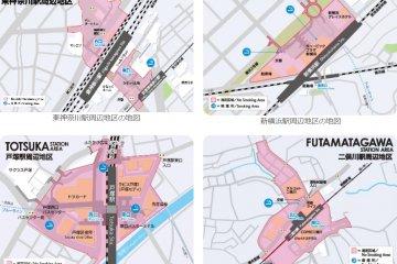 Yokohama City's prohibited areas.