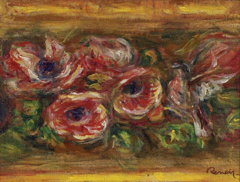 """Renoir's """"Anemones"""""""