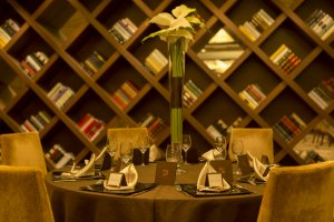 Beautiful decor provides a stylish setting for functions of all kinds