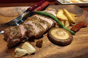 Japanese Pork Rib Loin Spicy Grill