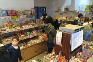 Sample a wide variety of sweets.